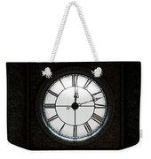 Antique Backlit Clock Weekender Tote Bag