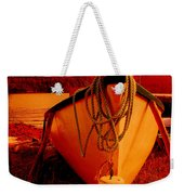 Antique Bow And Rope Weekender Tote Bag