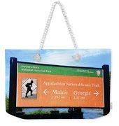 Appalachian National Scenic Trail Weekender Tote Bag
