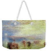 Approach To Venice Weekender Tote Bag