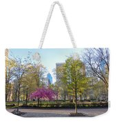 April In Rittenhouse Square Weekender Tote Bag