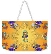 Aquarium Glow Oranges Weekender Tote Bag