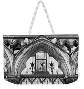 Arches In Front Of The Courts Weekender Tote Bag