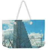 Architectural Skies Weekender Tote Bag