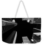 Architecture Black White  Weekender Tote Bag