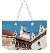 Architecture Details Of Pruhonice Castle Weekender Tote Bag