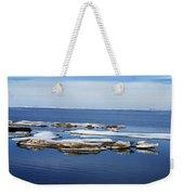 Arctic Ice Weekender Tote Bag
