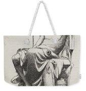 Aristotle, Ancient Greek Philosopher Weekender Tote Bag by Science Source