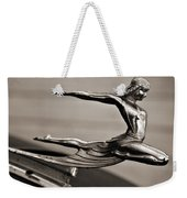 Art Deco Hood Ornament Weekender Tote Bag