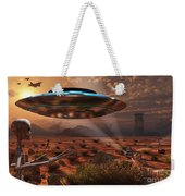 Artists Concept Of Stealth Technology Weekender Tote Bag