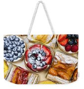 Assorted Tarts And Pastries Weekender Tote Bag