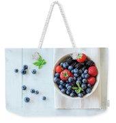 Assortment Of Berries Weekender Tote Bag