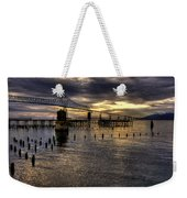 Astoria-megler Bridge 5 Weekender Tote Bag