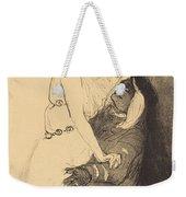 "At The Renaissance: Sarah Bernhardt In ""phedre"" (a La Renaissance: Sarah Bernhardt Dans ""ph?dre"") Weekender Tote Bag"