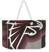 Atlanta Falcons Logo T-shirt Weekender Tote Bag