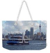New Zealand - Devonport Ferry Weekender Tote Bag