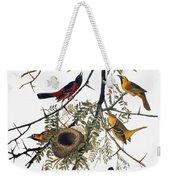 Audubon: Oriole Weekender Tote Bag