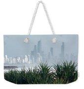 Australia - Surf Mist Shrouds Our View Weekender Tote Bag