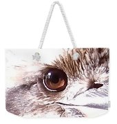 Australia - The Eye Of The Kookaburra Weekender Tote Bag