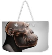 Australopithecus With Skull Weekender Tote Bag