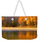Autumn At Sawmill Lake Weekender Tote Bag