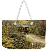 Autumn At Seonamsa Weekender Tote Bag