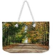 Autumn Backroad  Weekender Tote Bag