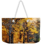 Autumn By The River Weekender Tote Bag