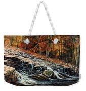 Autumn Cascade Weekender Tote Bag
