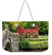Autumn Cottage Weekender Tote Bag