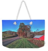 Autumn Countryside - North Carolina Weekender Tote Bag