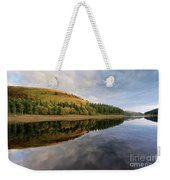 Autumn Derwent Reservoir Derbyshire Peak District Weekender Tote Bag