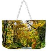 Autumn Drive No.2 Weekender Tote Bag