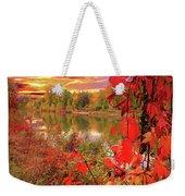 Autumn Garlands Weekender Tote Bag