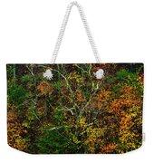 Autumn Hillside Blue Ridge Parkway Weekender Tote Bag