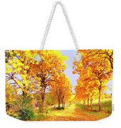 Autumn In Tuscany Weekender Tote Bag