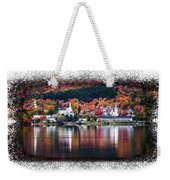 Autumn In Vermont Weekender Tote Bag