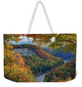 Autumn On The Genesee II Weekender Tote Bag