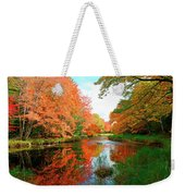 Autumn On The Mersey River, Kejimkujik National Park, Nova Scotia, Canada Weekender Tote Bag