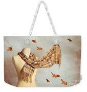 Autumn Scarf Weekender Tote Bag