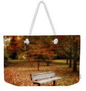 Autumn Splendors Weekender Tote Bag