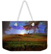 Autumn Vineyard Weekender Tote Bag