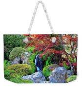 Autumn Waterfall - Digital Art 5x3 Weekender Tote Bag