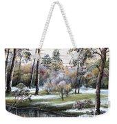 Autumnal Time.  Weekender Tote Bag