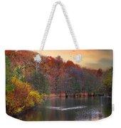 Autumn's Allure Weekender Tote Bag