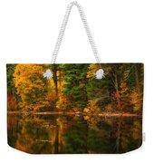 Autumns Calm Weekender Tote Bag