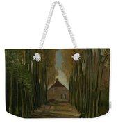 Avenue Of Poplars In Autumn Nuenen, October 1884 Vincent Van Gogh 1853 - 1890 Weekender Tote Bag