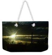 Az Cloudy Sunset Weekender Tote Bag