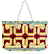 Azulejo - Geometrical Decoration  3 Weekender Tote Bag