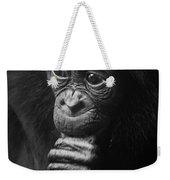 Baby Bonobo Portrait Weekender Tote Bag